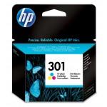 Cartucho tinta 3 colores HP para impresora HP Deskjet 1050, 2050 - HP 301 / CH562EE Original