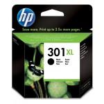 Cartucho tinta negro HP para impresora HP Deskjet 1050, 2050 - HP 301XL / CH563EE Original