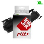 Compatible HP Cartucho tinta negro para impresora HP Deskjet F4200, D2560, Envy 110 - 300XL / CC641E